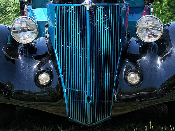 Photograph - 1936 Ford Front End by William Selander