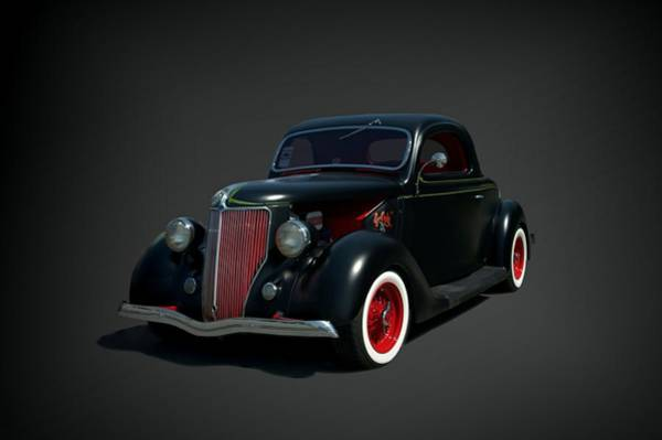 Photograph - 1936 Ford Hot Rod by Tim McCullough