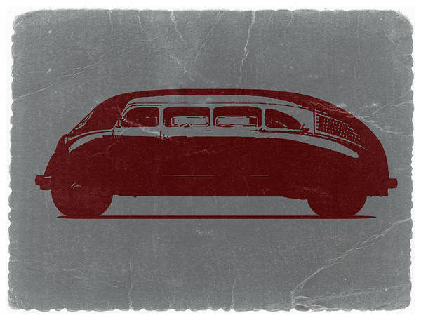 American Cars Photograph - 1936 Stout Scarab by Naxart Studio