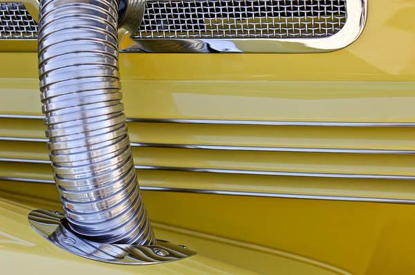Cord Wall Art - Photograph - 1937 Cord 812 Phaeton Hood Fender by Jill Reger