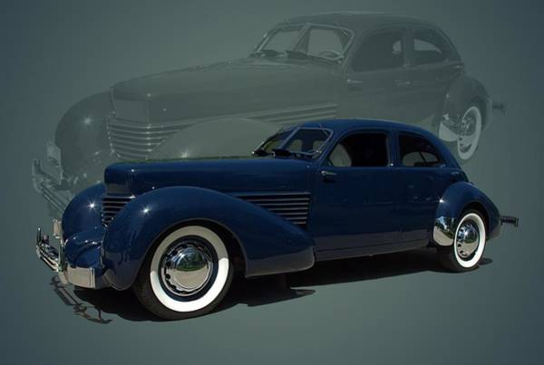 Photograph - 1937 Cord Beverly Model 812 by Tim McCullough