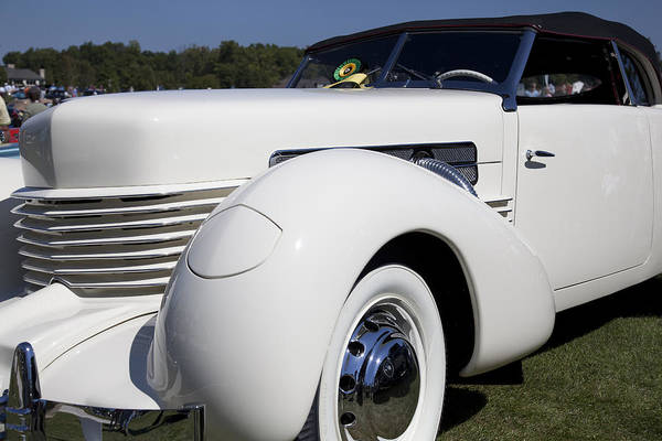 Photograph - 1937 Cord Model 812 Phaeton  by Jack R Perry