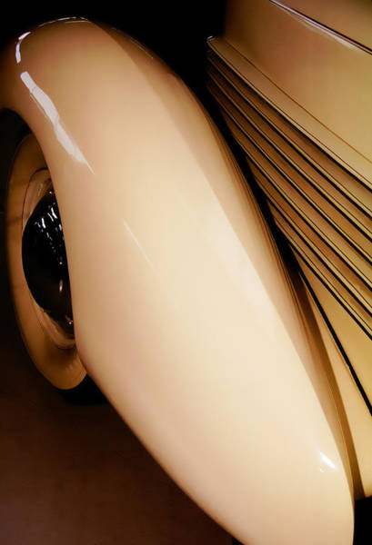 Photograph - 1937 Cord Winchester by Wes Jimerson