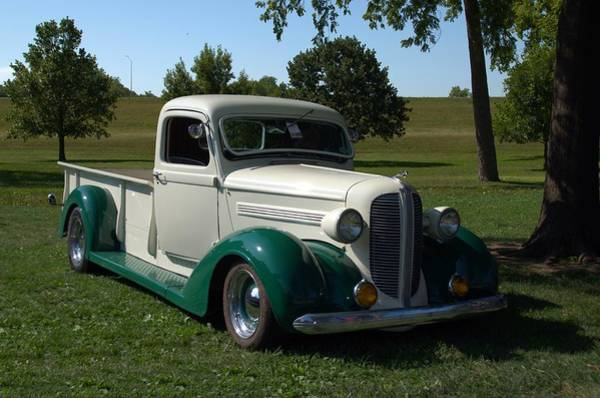 Photograph - 1937 Dodge Brothers Pickup Truck Hot Rod by Tim McCullough