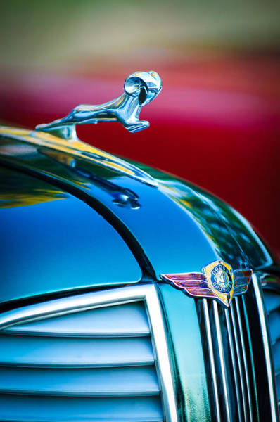 Photograph - 1937 Dodge Hood Ornament - Emblem by Jill Reger