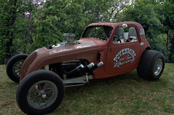 Photograph - 1937 Fiat Topolino Dragster by Tim McCullough