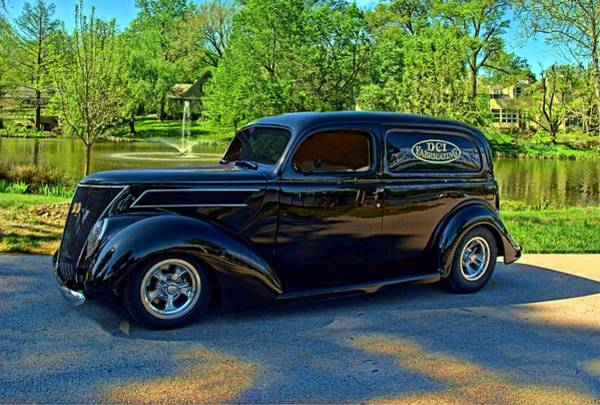 Photograph - 1937 Ford Sedan Delivery Truck by Tim McCullough