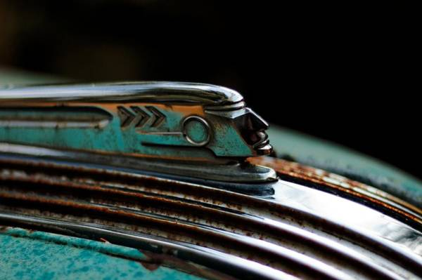 Photograph - 1937 Pontiac 224 Hood Ornament by Trever Miller
