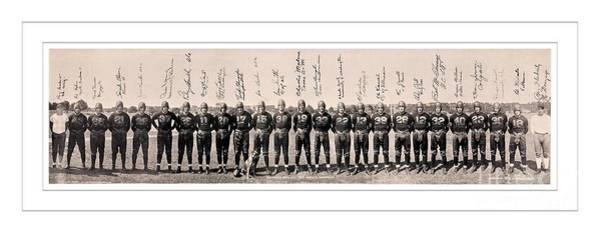 1937 Wall Art - Photograph - 1937 Washington Redskins Team Photo by Unknown