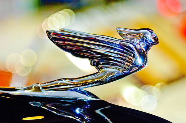 Hoodies Photograph - 1938 Cadillac V-16 Hood Ornament 2 by Jill Reger