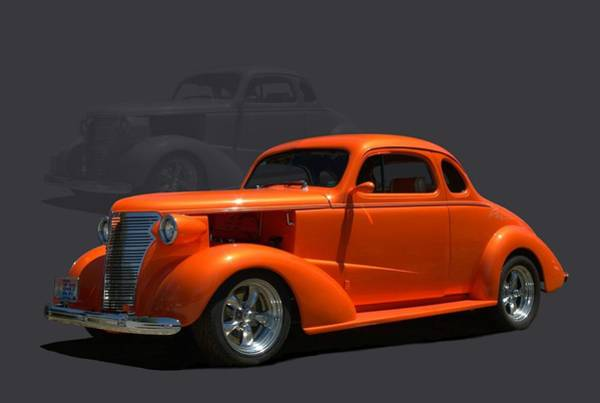 Photograph - 1938 Chevrolet Coupe Street Rod by Tim McCullough
