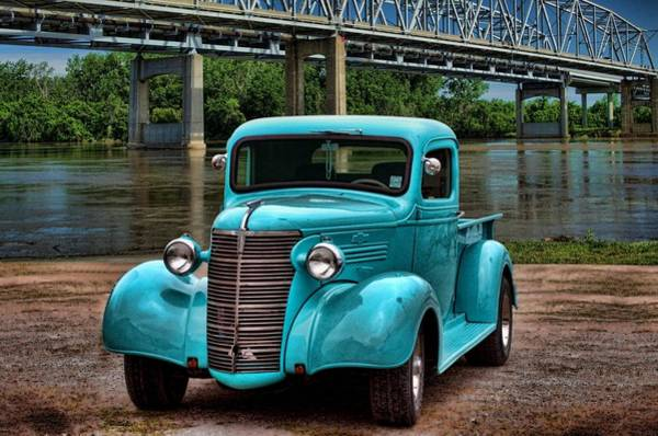 Photograph - 1938 Chevrolet Pickup Truck by Tim McCullough