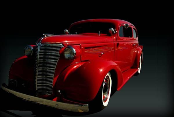 Photograph - 1938 Chevrolet Sedan Hot Rod by Tim McCullough