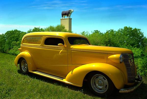 Photograph - 1938 Chevrolt Sedan Delivery Street Rod by Tim McCullough