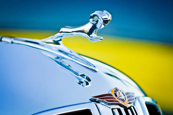 Photograph - 1938 Dodge Ram Hood Ornament -136c46 by Jill Reger