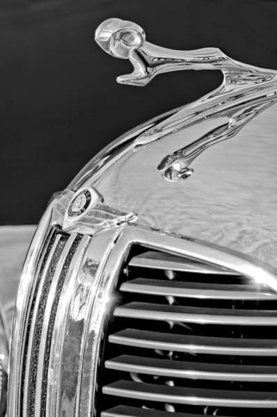 Wall Art - Photograph - 1938 Dodge Ram Hood Ornament 4 by Jill Reger