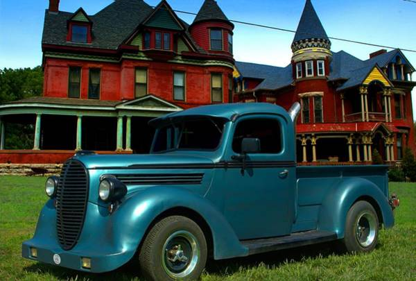 Photograph - 1938 Ford Custom Pickup Truck by Tim McCullough