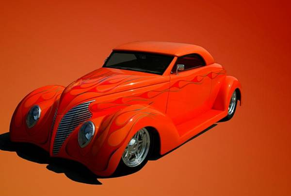Photograph - 1938 Ford Custom  Roadster by Tim McCullough