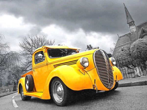 Photograph - 1938 Ford Pickup by Gill Billington