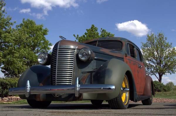 Photograph - 1938 Nash Lafayette Sedan by Tim McCullough