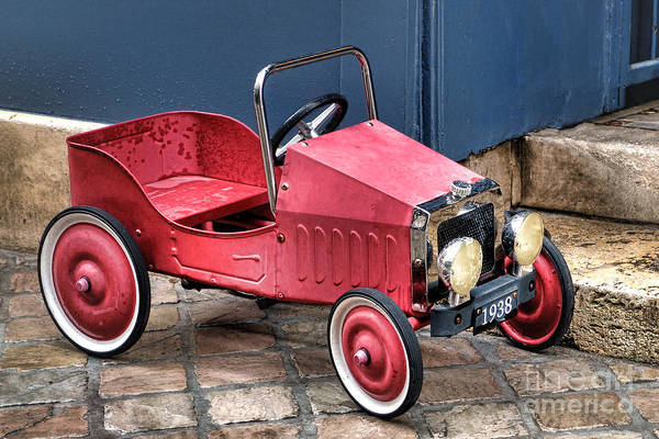 Pedal Car Wall Art - Photograph - 1938 by Olivier Le Queinec