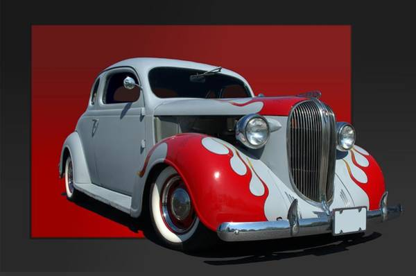 Photograph - 1938 Plymouth Coupe Hot Rod by Tim McCullough