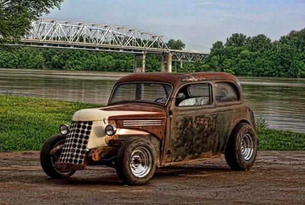 Photograph - 1938 Plymouth Sedan by Tim McCullough