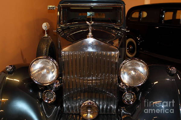 Photograph - 1938 Rolls Royce Sports Sedanca 5d25724 by Wingsdomain Art and Photography