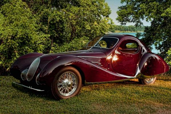 Photograph - 1938 Talbot Lago by Tim McCullough
