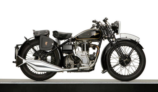Mac Photograph - 1938 Velocette Mac 350 Motorcycle by Panoramic Images