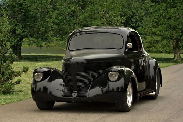 Photograph - 1938 Willys Coupe by Tim McCullough