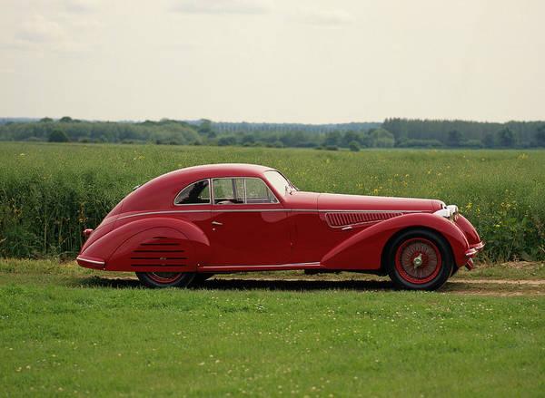 Motoring Photograph - 1939 Alfa Romeo 8c 2900b Lungo by Panoramic Images