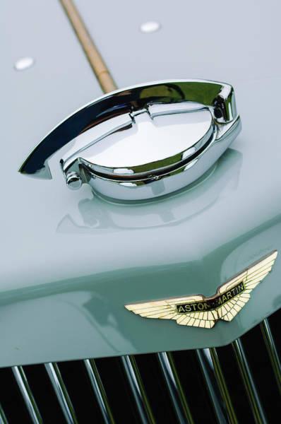 Photograph - 1939 Aston Martin 15-98 Abbey Coachworks Swb Sports Grille Emblem by Jill Reger