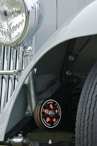 Photograph - 1939 Aston Martin 15-98 Abbey Coachworks Swb Sports Suspension Control by Jill Reger