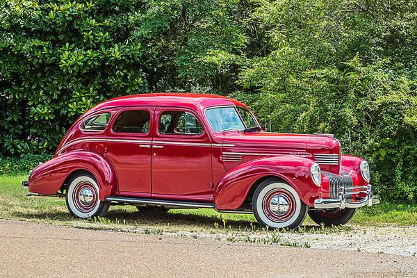 Photograph - 1939 Chrysler Royal 4 Door Sedan by Barry Jones