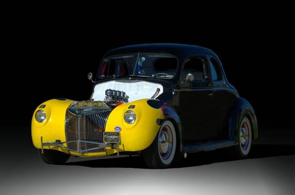 Photograph - 1939 Ford Coupe Hot Rod by Tim McCullough