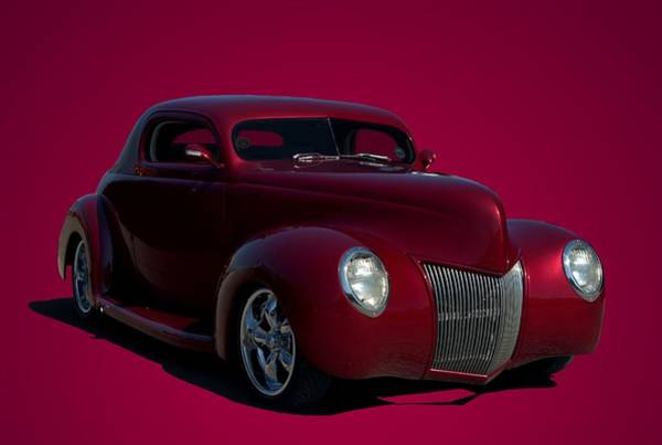 Photograph - 1939 Ford Custom Hot Rod by Tim McCullough