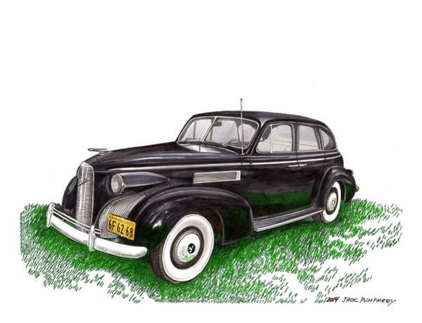 Wall Art - Painting - 1939 Lasalle 5019 Sedan by Jack Pumphrey