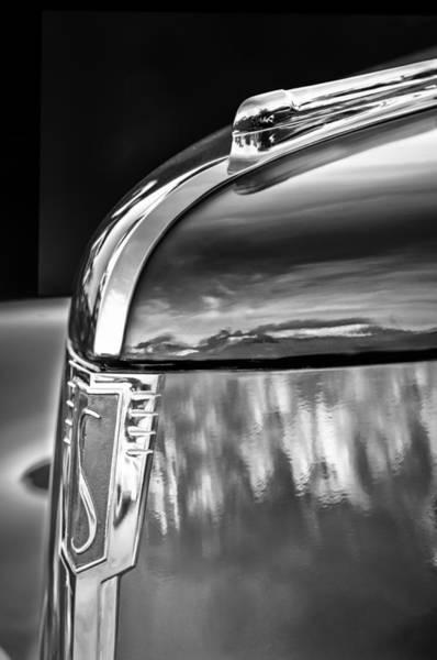 Photograph - 1939 Studebaker Commander Hood Ornament - Emblem by Jill Reger