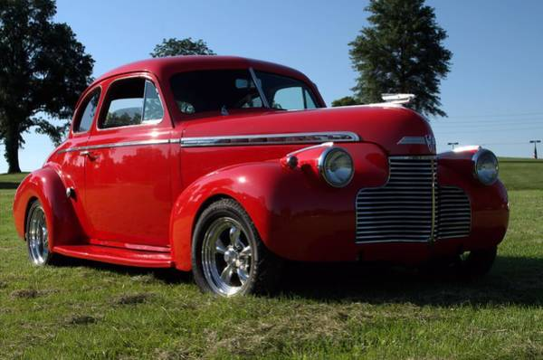 Photograph - 1940 Chevrolet Coupe Hot Rod by Tim McCullough