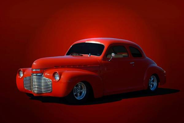 Photograph - 1940 Chevrolet Custom Coupe Hot Rod by Tim McCullough