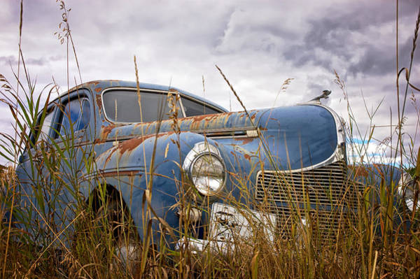 Photograph - 1940 Dodge 4 Door Luxury Liner by Mary Lee Dereske