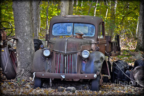 Photograph - 1940 Ford Dump Truck by Gary Keesler