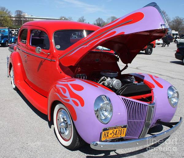 Canon Rebel Photograph - 1940 Ford Two Door Sedan Hot Rod by John Telfer