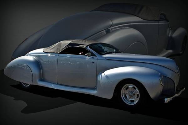 Photograph - 1940 Lincoln Custom Covertible by Tim McCullough