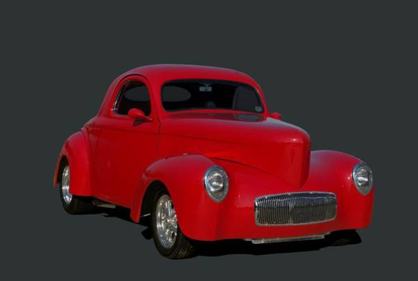 Photograph - 1940 Willys Hot Rod by Tim McCullough