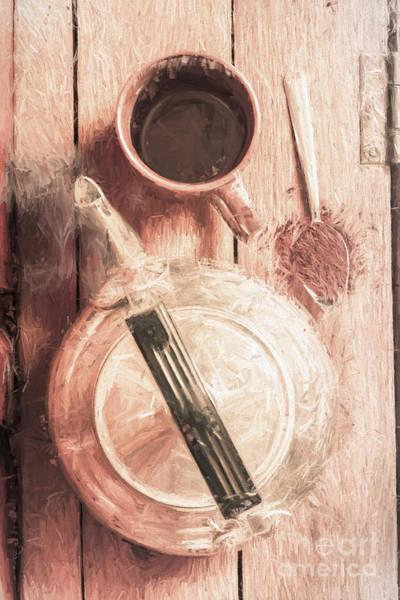 Digital Art - 1940s Coffee Shop Stop by Jorgo Photography - Wall Art Gallery
