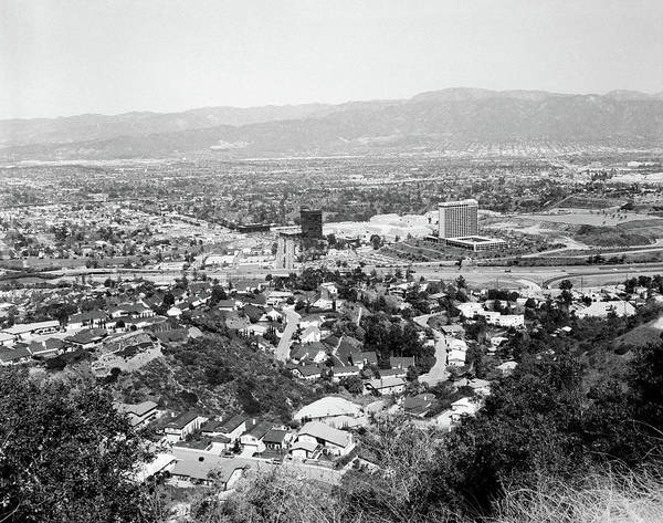 Wall Art - Photograph - 1940s View Overlooking Universal City by Vintage Images