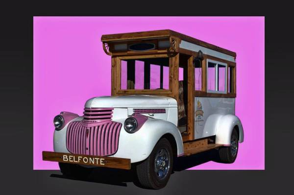 Photograph - 1941 Chevrolet Belfonte Ice Cream Truck by Tim McCullough