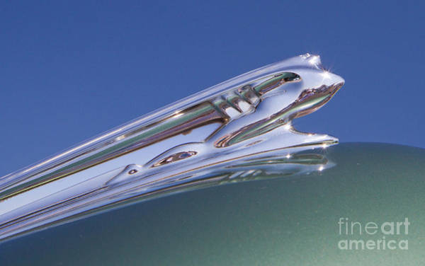 Photograph - 1941 Desoto Hood Ornament by Kevin McCarthy